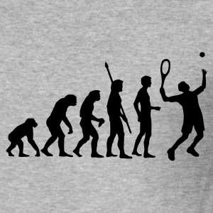 evolution_tennis_b_1c Sweat-shirts - Tee shirt près du corps Homme