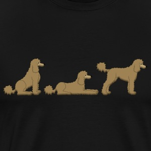 place get poodle Long Sleeve Shirts - Men's Premium T-Shirt