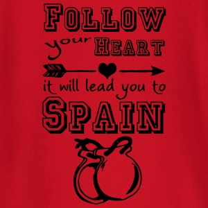 Heart leads you to Spain T-Shirts - Baby Langarmshirt