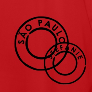 Red/white Sao Paulo Bags  - Men's Football Jersey