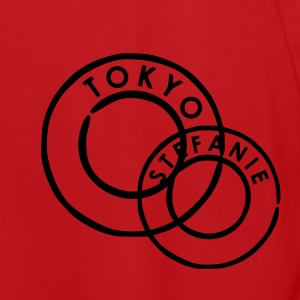 Red/white Tokyo Bags  - Men's Football Jersey