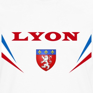 Lyon Vector Tee shirts - T-shirt manches longues Premium Homme