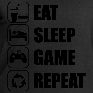 Eat,sleep,game,repeat, geek,gamer,nerd,console - Sweat-shirt Homme Stanley & Stella