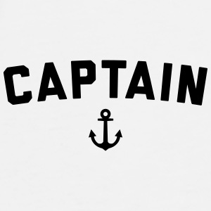 Captain Nautical Quote  Caps & Hats - Men's Premium T-Shirt