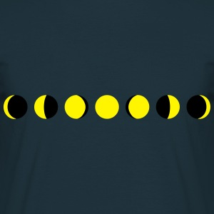 moon, phases of the moon - luna Felpe - Maglietta da uomo