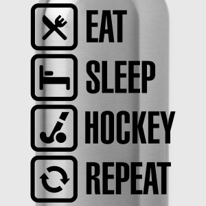 Eat Sleep Hockey Repeat Koszulki - Bidon