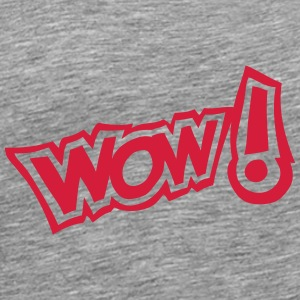 Wow exclamation expression 2 Tops - Men's Premium T-Shirt