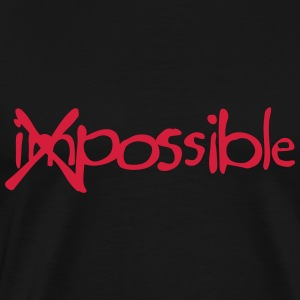 Impossible cross bar Tops - Men's Premium T-Shirt