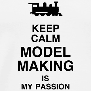 Model Maker Building Modell Modélisme Modéliste Mugs & Drinkware - Men's Premium T-Shirt