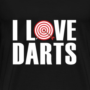 Love Darts Sweatshirts - Herre premium T-shirt