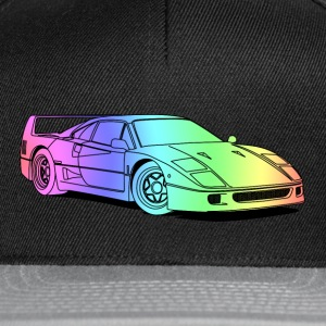 f40 colourful Tee shirts - Casquette snapback