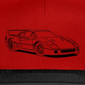 f40 outlines Tee shirts - Casquette snapback