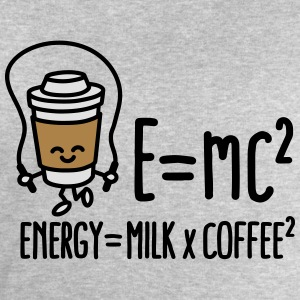 E=mc2 - Energy = Milk x Coffee2 T-Shirts - Männer Sweatshirt von Stanley & Stella