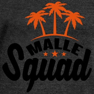 Malle Squad T-Shirts - Women's Boat Neck Long Sleeve Top