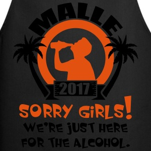 Malle Sorry Girls Camisetas - Delantal de cocina