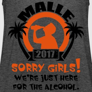 Malle Sorry Girls T-Shirts - Women's Tank Top by Bella