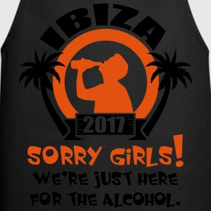 Ibiza Sorry Girls T-Shirts - Cooking Apron