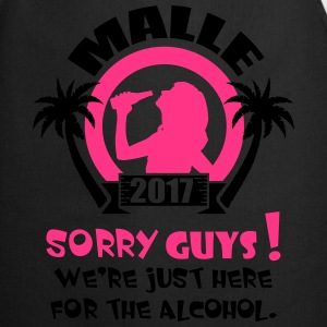 Malle Sorry Guys Tee shirts - Tablier de cuisine