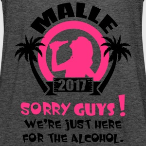 Malle Sorry Guys T-shirts - Vrouwen tank top van Bella