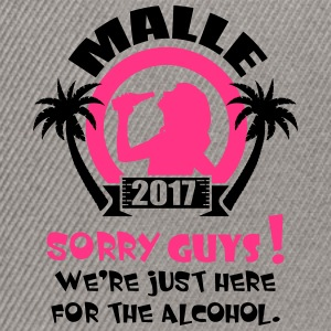 Malle Sorry Guys T-Shirts - Snapback Cap