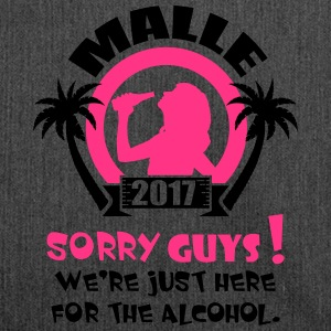 Malle Sorry Guys Tee shirts - Sac bandoulière 100 % recyclé