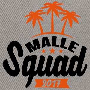 Malle Squad 2017 Tee shirts - Casquette snapback