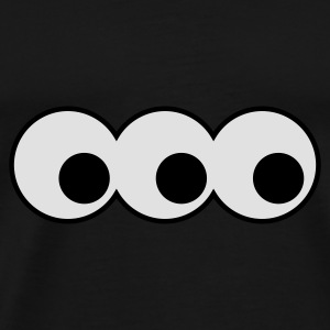 three eyes - Männer Premium T-Shirt