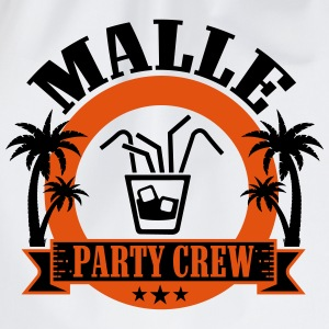 Malle Party Crew T-Shirts - Drawstring Bag