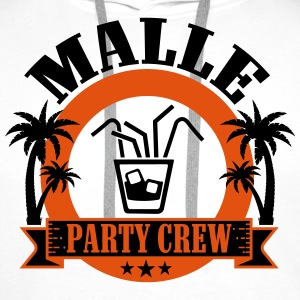 Malle Party Crew T-Shirts - Men's Premium Hoodie