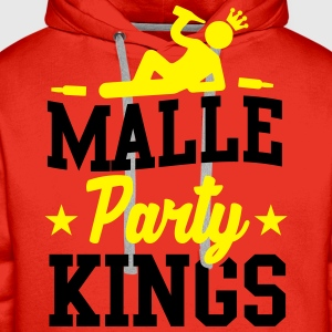 Malle Party Kings T-shirts - Premiumluvtröja herr