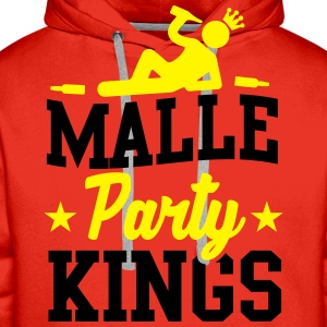 Malle Party Kings T-shirts - Herre Premium hættetrøje