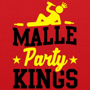 Malle Party Kings T-shirts - Tas van stof