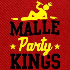 Malle Party Kings Tee shirts - Casquette snapback
