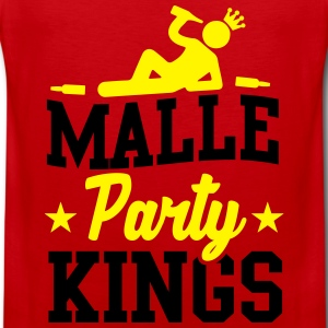 Malle Party Kings T-shirts - Premiumtanktopp herr
