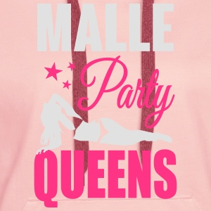 Malle Party Queens T-shirts - Premiumluvtröja dam