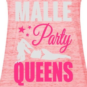Malle Party Queens T-Shirts - Women's Tank Top by Bella