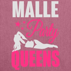 Malle Party Queens Tee shirts - Sac bandoulière 100 % recyclé