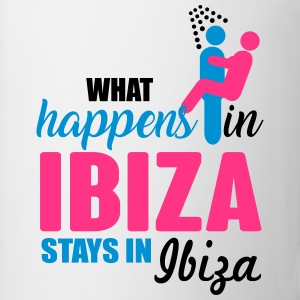 Ibiza what happens there T-shirts - Kop/krus