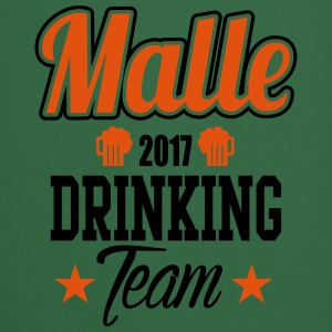 Malle Drinking Team Camisetas - Delantal de cocina