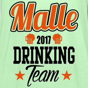 Malle Drinking Team T-shirts - Vrouwen tank top van Bella
