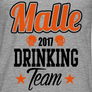 Malle Drinking Team Tee shirts - T-shirt manches longues Premium Homme