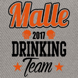 Malle Drinking Team T-Shirts - Snapback Cap