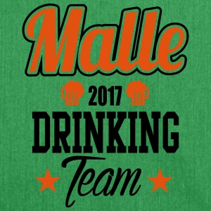 Malle Drinking Team Tee shirts - Sac bandoulière 100 % recyclé