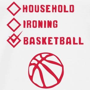 basketball household ironing case cohesive Sports wear - Men's Premium T-Shirt