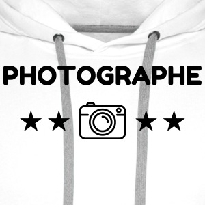photographe / photographie / photo / video Tabliers - Sweat-shirt à capuche Premium pour hommes