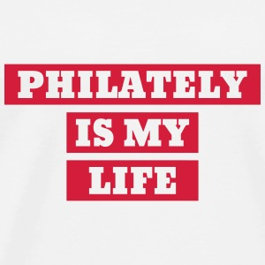 Philatéliste Stamp Philatelie Philatelist Stempel Mugs & Drinkware - Men's Premium T-Shirt