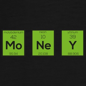 Money as a chemical element funny S3z08 design Mugs & Drinkware - Men's Premium T-Shirt