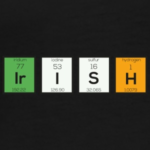 Irish chemical elements Sy4ra-design Mugs & Drinkware - Men's Premium T-Shirt