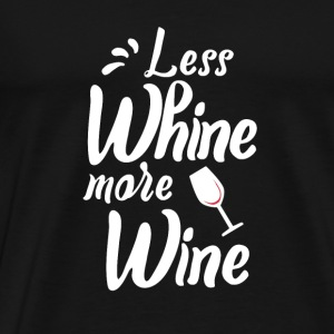 Wein Wine Baby Cap - Men's Premium T-Shirt