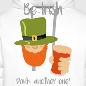 Be Irish - Men's Premium Hoodie